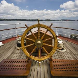 Boat sterring wheel