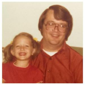 Me age 4 with my dad, 1978